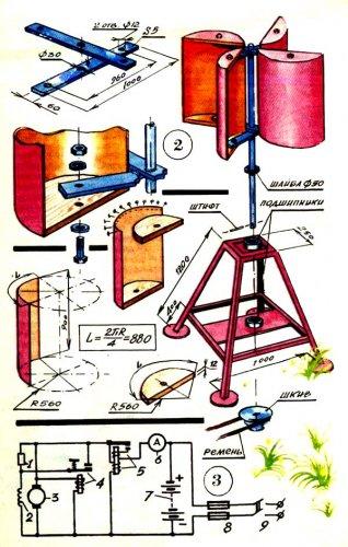 Бочка да шланг - и готов насос В два раза ярче на том же керосине.  Ветер.  Схемы различных устройств для получения...