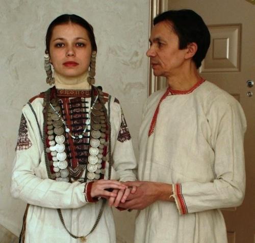 фото чувашский костюм