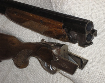 Теперешний внешний вид ружья сформировался не сразу.  ТОЗ-34 за сорок лет производства...