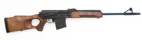 """1-Охотничий карабин  """"Вепрь-308 """" калибра 7,62х51 с установленным оптическим..."""