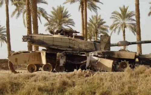 А кто собственно будет противостоять то Т-90.  Немецкие Лео 2А6 которых...