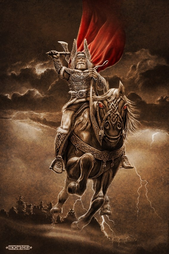 СВАРОЖИЧ.  21 Февраль 2013 @ 12:10ПЕРУН.  Перун - славянский Бог Грозы, Бог грома и молнии.