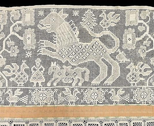 Русские строчевые подзоры, кружевные подзоры. Из собрания музея Метрополитен.