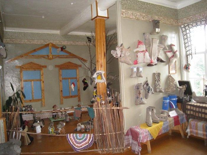 Музей валенок в городе Мышкин